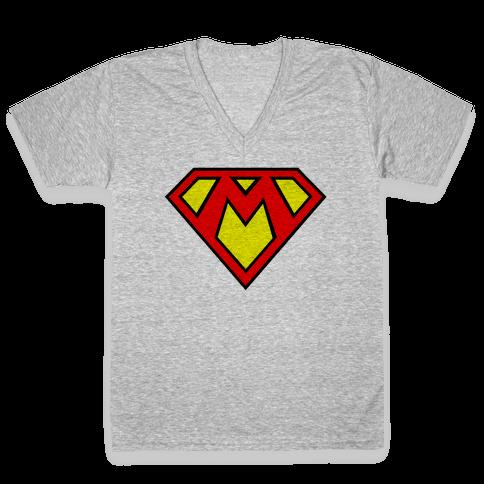Super Bros. V-Neck Tee Shirt