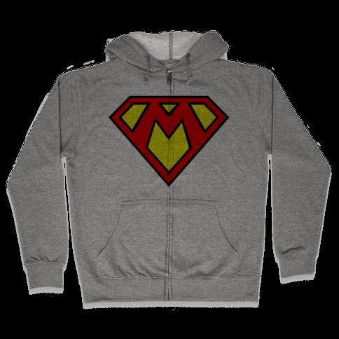 Super Bros. Zip Hoodie