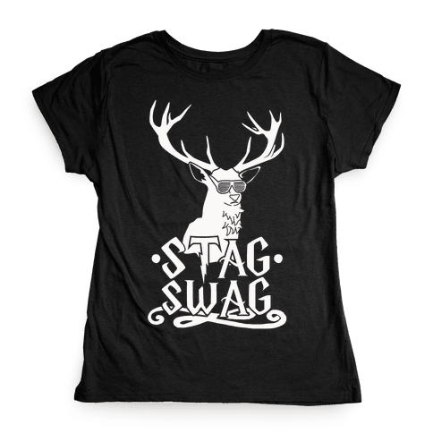 Stag Swag Womens T-Shirt