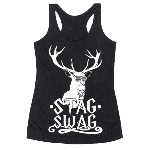 Stag Swag Racerback Tank Top