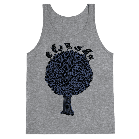 Birds on a Tree Tank Top