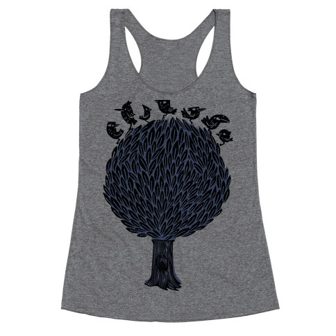 Birds on a Tree Racerback Tank Top