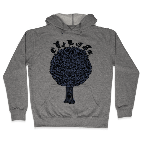 Birds on a Tree Hooded Sweatshirt