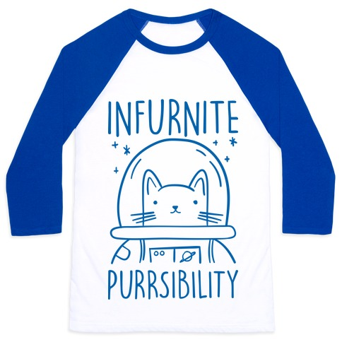 Infurnite Purrsibility Baseball Tee