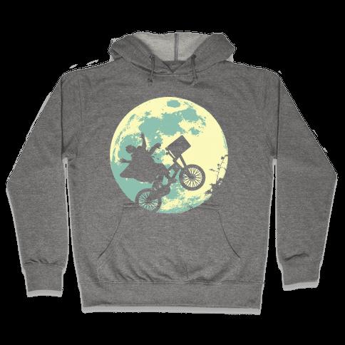 Extra Terrestrial (longsleeve)  Hooded Sweatshirt