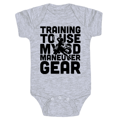 Training To use My 3D Maneuver Gear Baby Onesy
