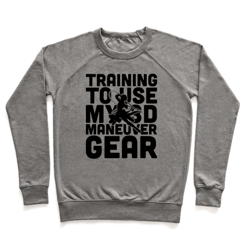 Training To use My 3D Maneuver Gear Pullover