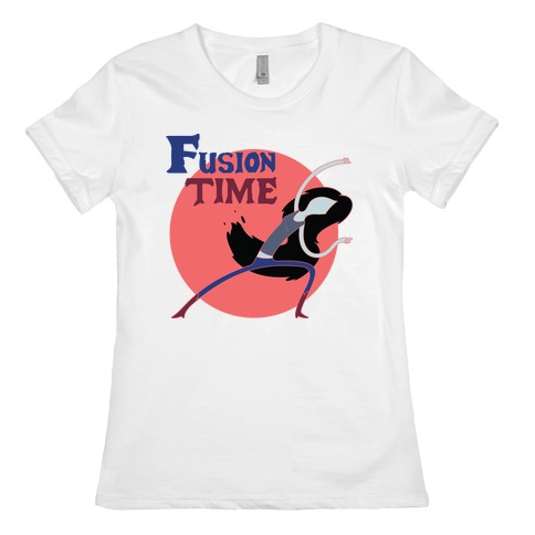 Fusion Time #1 Womens T-Shirt