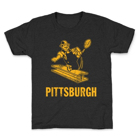 Pittsburgh Alternate (Vintage) Kids T-Shirt