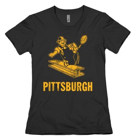 Pittsburgh Alternate (Vintage) Womens T-Shirt