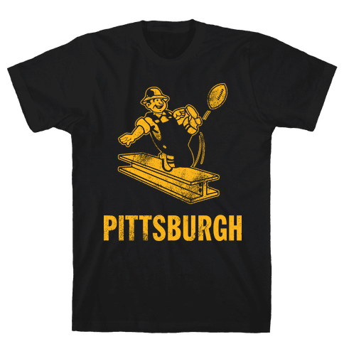 Pittsburgh Alternate (Vintage) Mens T-Shirt