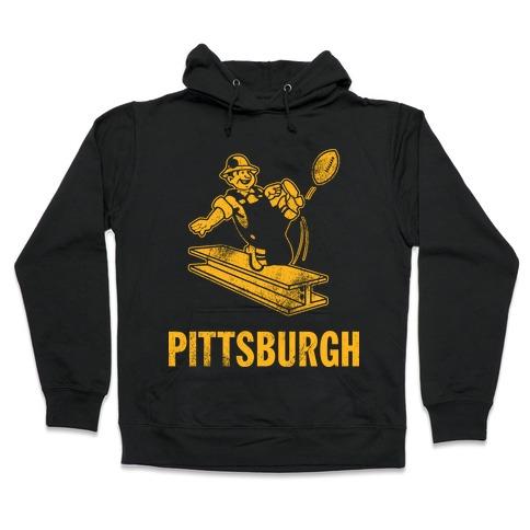 Pittsburgh Alternate (Vintage) Hooded Sweatshirt