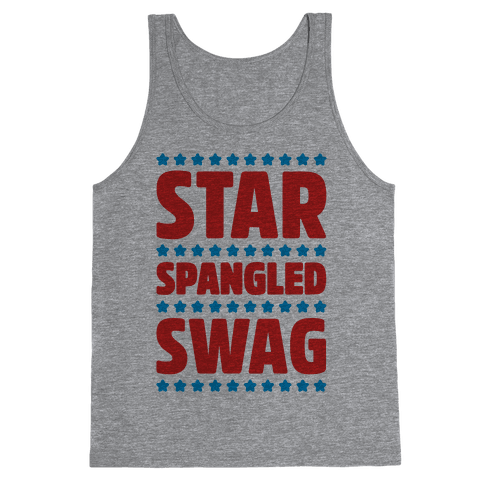 Star Spangled Swag Tank Top