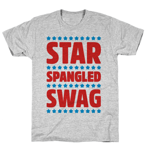 Star Spangled Swag Mens T-Shirt