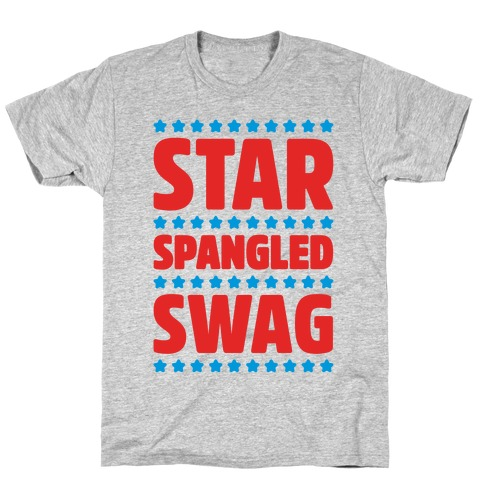 Star Spangled Swag Mens T-Shirt
