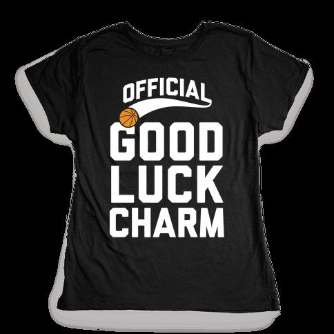 Basketball Good Luck Charm Womens T-Shirt