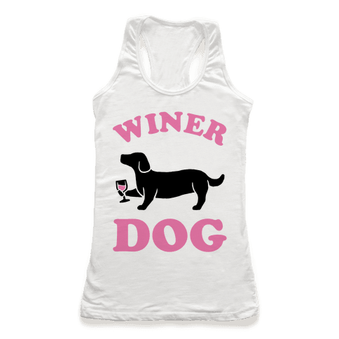 Winer Dog Racerback Tank Top
