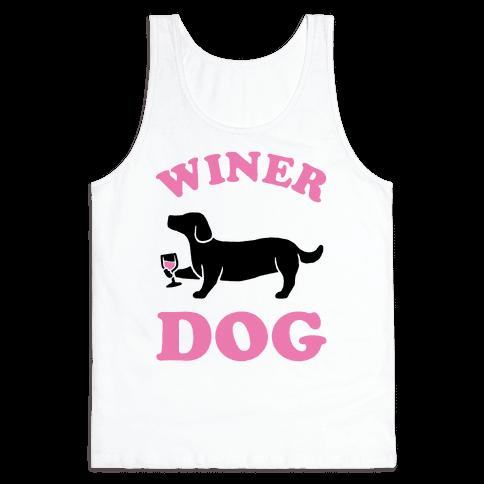 Winer Dog Tank Top