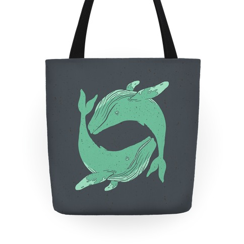 The Circle of Whales Tote
