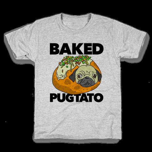 Baked Pugtato Kids T-Shirt