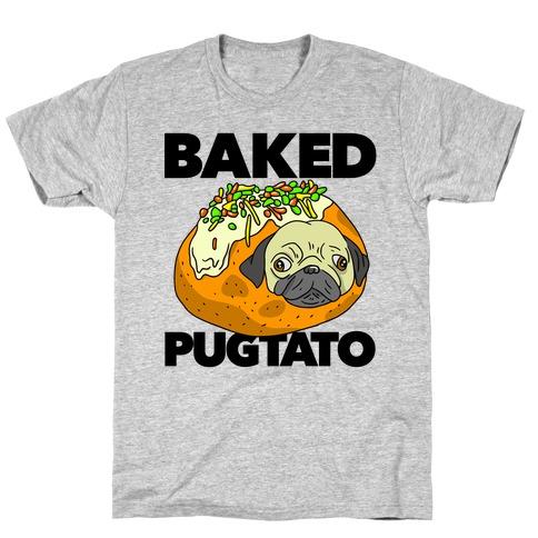 Baked Pugtato Mens T-Shirt