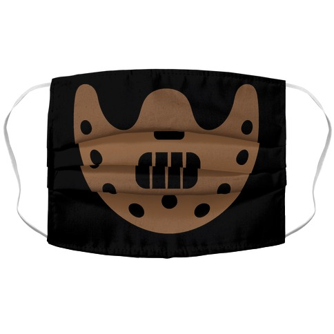 Cannibal Villain Mask Parody Accordion Face Mask