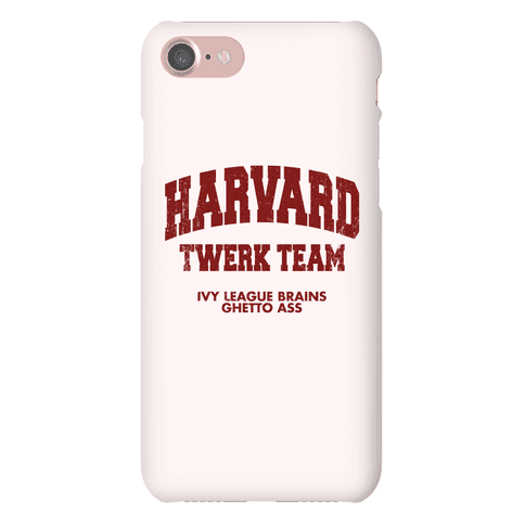Harvard Twerk Team Phone Case