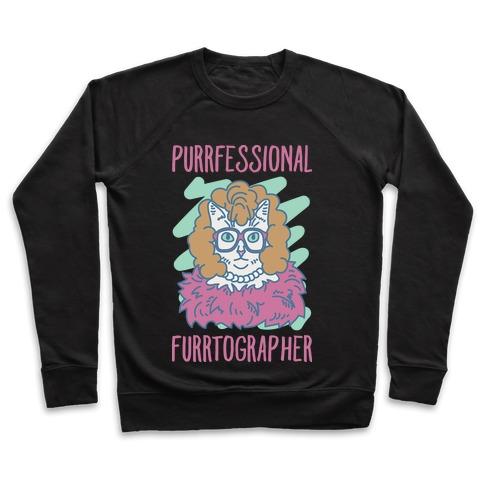 Purrfessional Furrtographer Pullover