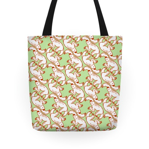 Two Toed Sloth Pattern Tote