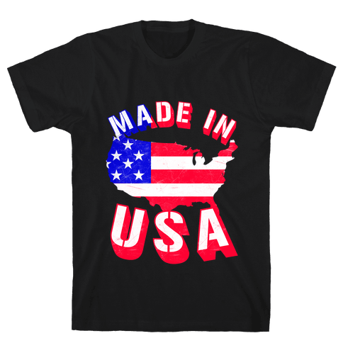 Made In USA Mens T-Shirt