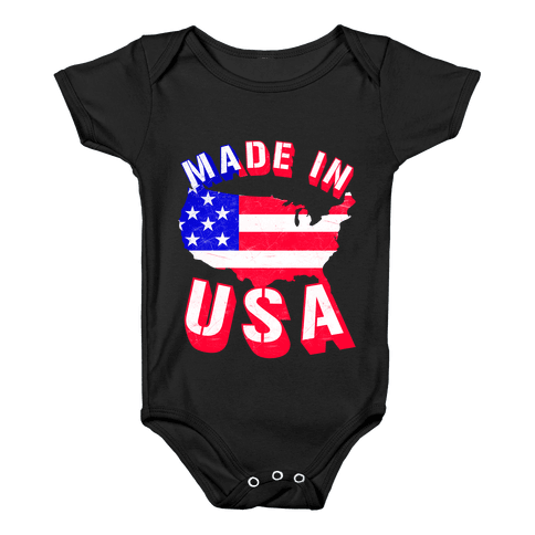 Made In USA Baby Onesy