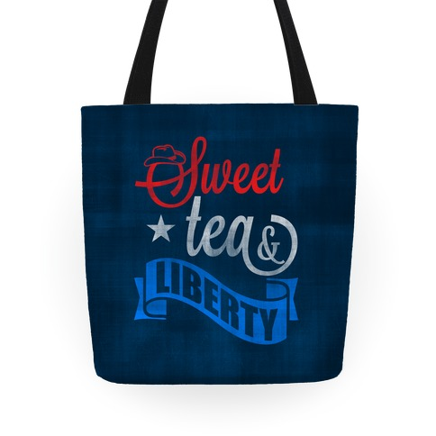 Sweet Tea & Liberty Tote