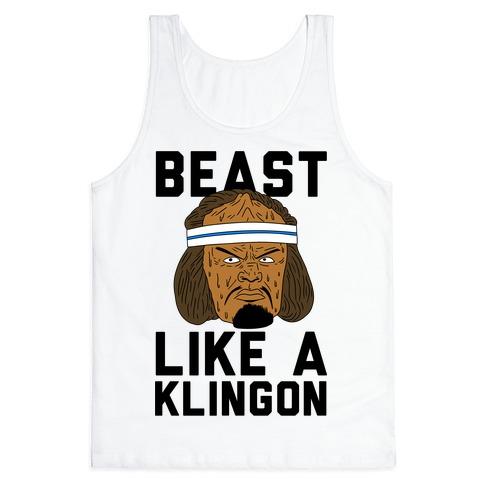 Beast Like a Klingon Tank Top