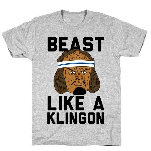 Beast Like a Klingon T-Shirt