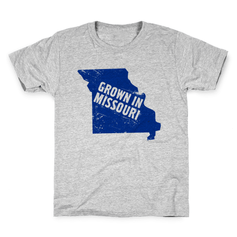 Grown in Missouri Kids T-Shirt
