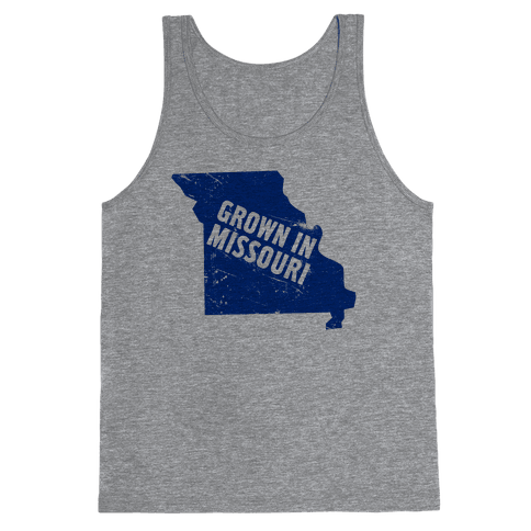 Grown in Missouri Tank Top