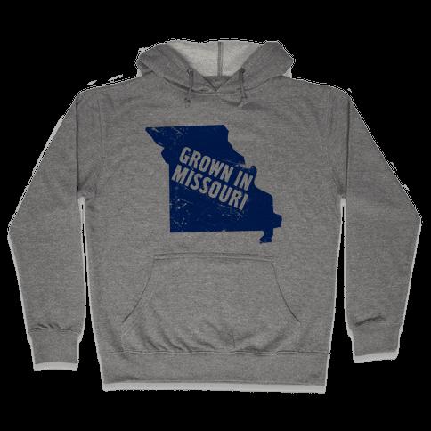Grown in Missouri Hooded Sweatshirt