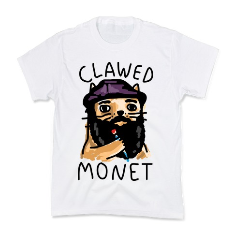 Clawed Monet Kids T-Shirt