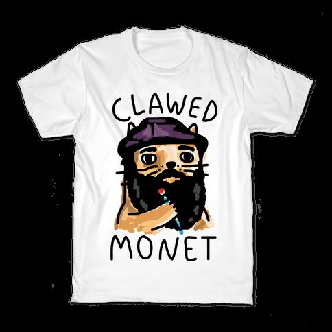 Clawed Monet Kids T-Shirt