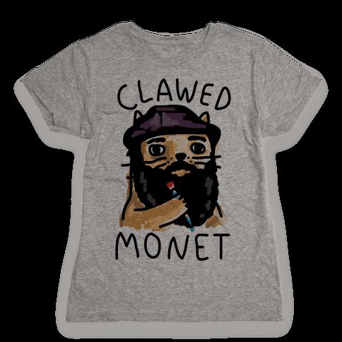 Clawed Monet Womens T-Shirt