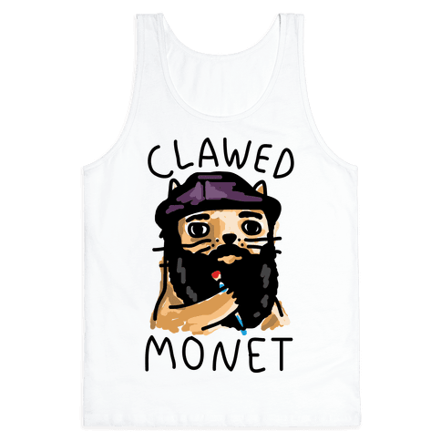 Clawed Monet Tank Top