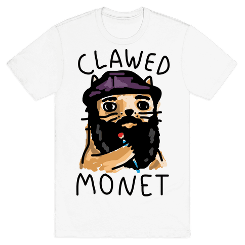 Clawed Monet Mens T-Shirt