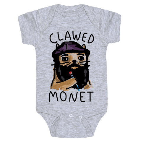 Clawed Monet Baby Onesy
