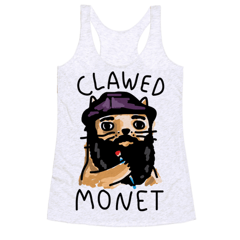 Clawed Monet Racerback Tank Top