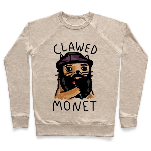 Clawed Monet Pullover
