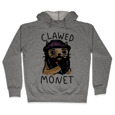 Clawed Monet Hooded Sweatshirt