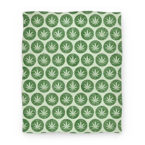 Weed Pattern Blanket