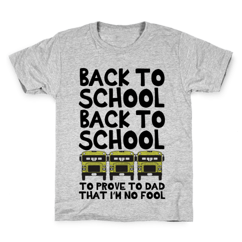 Back to School Kids T-Shirt
