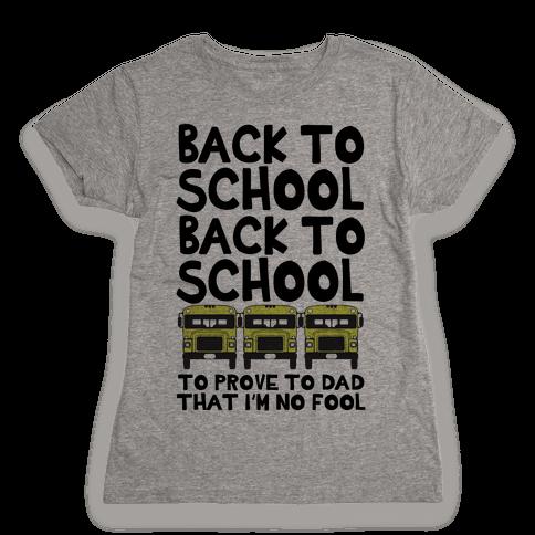 Back to School Womens T-Shirt