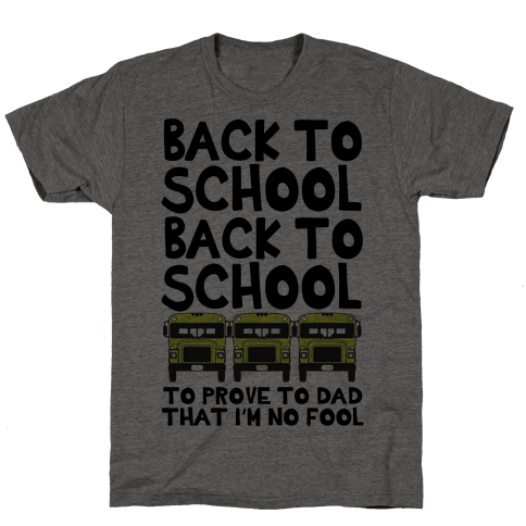 Back to School Mens T-Shirt